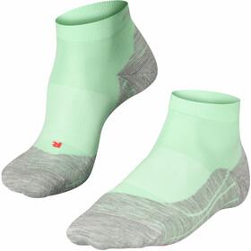 Falke RU4 Calzini da corsa Donna, verde/grigio